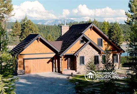 cabin plans with garage new craftsman house and home designs with today 39 s amenities