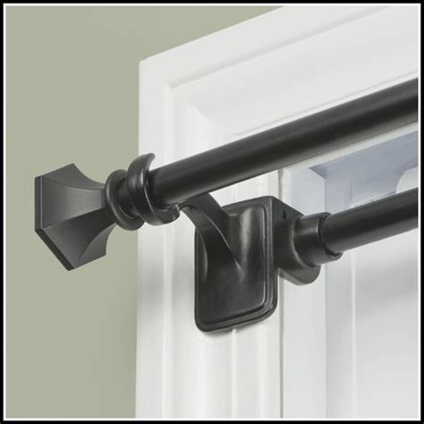 tension curtain rods black tension curtain rods curtains home design ideas