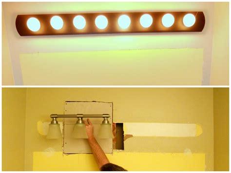 move a light fixture