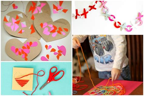 11 Easy Valentine's Day Crafts For Preschoolers + Young Kids