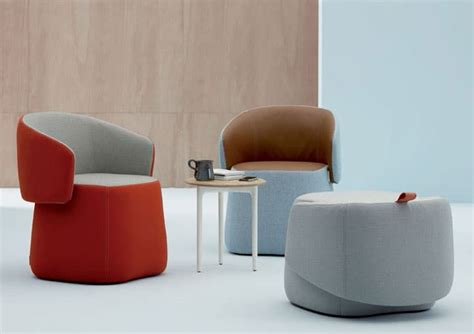 chick pouf chair side table vurni