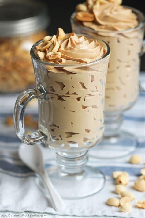 Healthy Peanut Butter Mousse Recipe Vegan Sweet Treats
