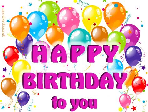 Happy Birthday Images Free Happy Birthday To You Free Pics Ecards