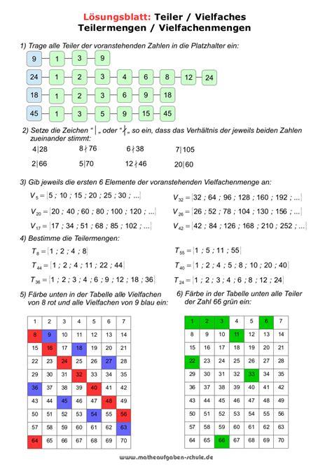 grundwissen mathematik klasse