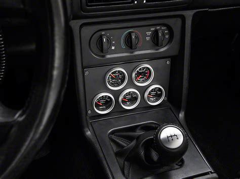 cp  mustang radio delete  gauge panel black fdgbb