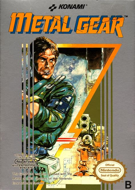 Metal Gear for NES (1987) - MobyGames