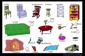 Les Meubles La Maison Pinterest Fle Vocabulaire Et