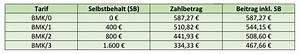 Pkv Beitrag Berechnen : sind selbstbeteiligungskosten in der pkv absetzbar ~ Themetempest.com Abrechnung
