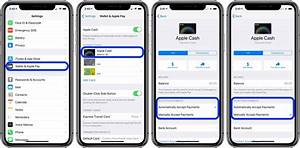 Apple Cash  How To Require Manual Acceptance For Payments