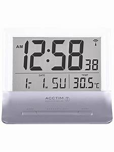 Acctim Radio Controlled Alarm Clock Manual