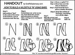 wildstyle N graffiti handout | Art Ed - Typography ...