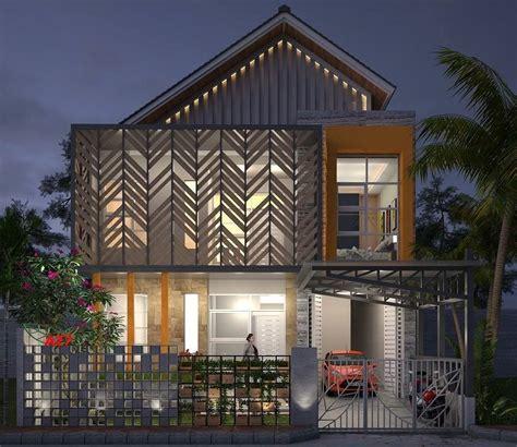 rumah minimalis  atap genteng agape locs