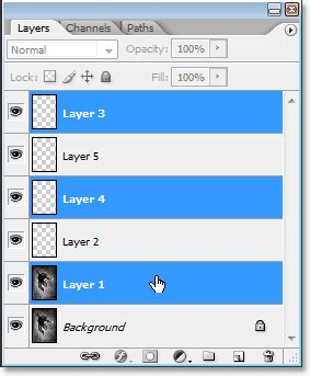 Photoshop Layers Essential Power Shortcuts