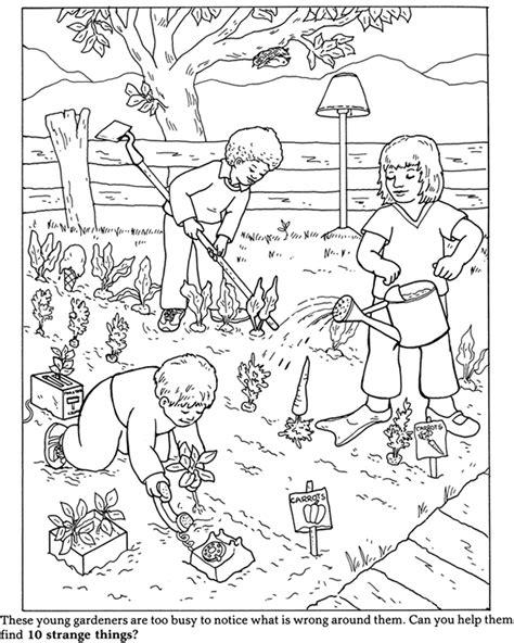garden coloring page  bestofcoloringcom
