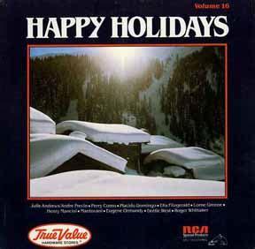 True Value Happy Holidays Volume 1 (csp242) Christmas