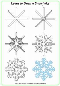 drawing a snowflake | winter kid activities / zimske ...