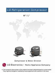 Lg Electronics Compressor Catalog M L By Everwell