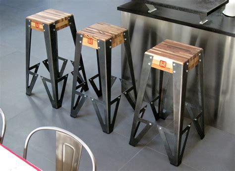 tabouret de bar fait maison tabouret de bar design original gamme indus bruno grange cossou