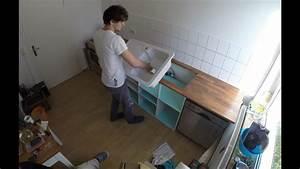 Küchen Selber Bauen : diy k che selbst gebaut youtube ~ Watch28wear.com Haus und Dekorationen