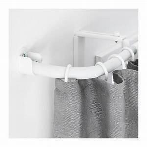 Ikea Rideau Blanc : r cka tringle rideau raccord d 39 angle blanc ikea ~ Melissatoandfro.com Idées de Décoration