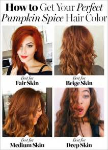pumpkin spice hair 7 things to about fall s hair color trend