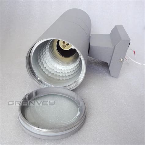 outdoor wall light gasket cylinder shape outdoor wall sconce up and down lighting