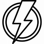 Current Icon Symbol Electric Wire Icons Magnet