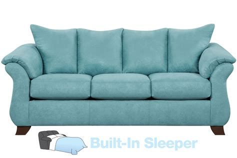 Microfiber Queen Sleeper Sofa by Taffy Microfiber Queen Sleeper Sofa