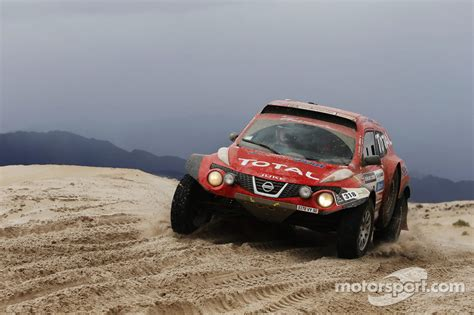 nissan dakar 318 nissan juke buggy christian lavieille and jean