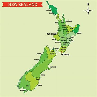 Zealand Map Vector Vecteezy Clipart Graphics