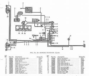 1955 Willys Cj5 Wiring Diagram