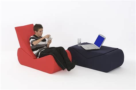 comfy living gaming sofa chair with cotton drill cover