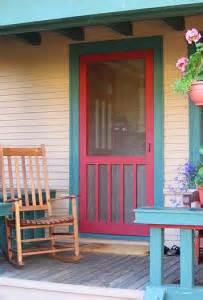 wood stormscreen doors  bungalows twin cities