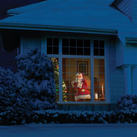 windowfx animated halloween christmas scene projector