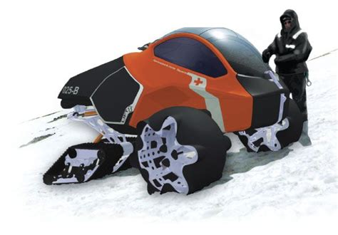 Snowmobile Concept For British Antarctic Survey