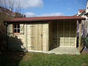 Abri De Jardin Leclerc 299 Euros : abri de jardin toit plat avec pergola ~ Dailycaller-alerts.com Idées de Décoration