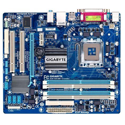 gigabyte ga g41m combo rev 2 0 ga g41m combo achat vente carte m 232 re sur ldlc lu
