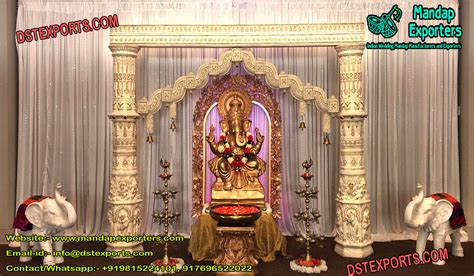 hindu wedding ganesha entrance mandap exporters