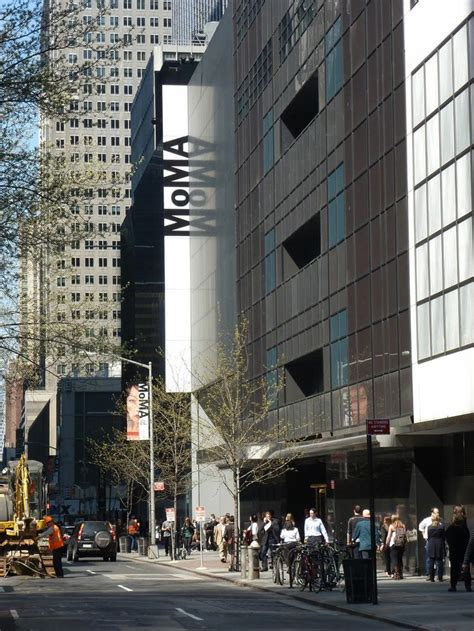 museum of modern new york city museum of modern moma on 53rd in new york city museums around the world