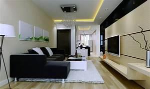 Modern living room walls decorating ideas