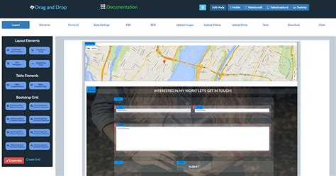 drupal bootstrap template creator visual drag and drop bootstrap html templates creator by
