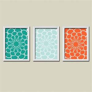 1000 ideas about teal wall decor on pinterest teal With orange wall decor