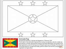 Flag of Grenada coloring page Free Printable Coloring Pages