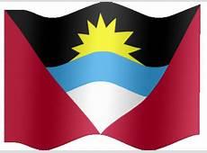Animated Antigua and Barbuda flag Country flag of
