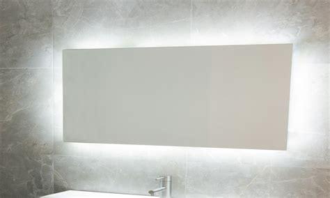 white porcelain tile led bathroom mirrors led backlit