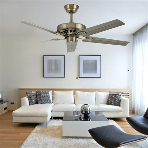 living room fans with lights 48 inch iron leaf ceiling fan light modern minimalist