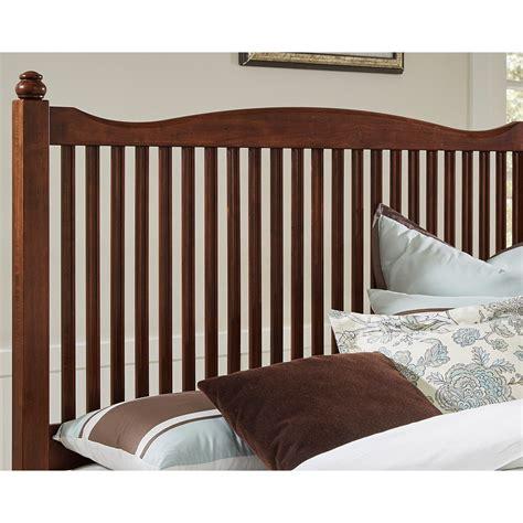 american maple vaughan bassett american maple solid wood queen slat bed