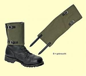 Bundeswehr Schuhe Gebraucht : bw gamaschen segeltuch b bundeswehr shop r er hildesheim ~ Jslefanu.com Haus und Dekorationen