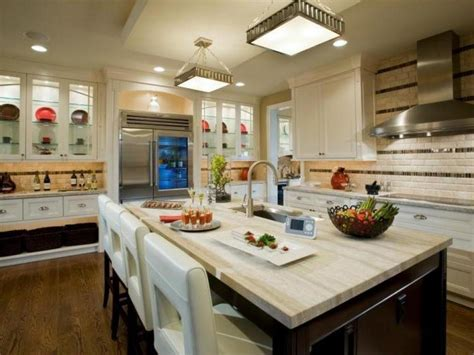 White Kitchen Countertop - our 13 favorite kitchen countertop materials hgtv