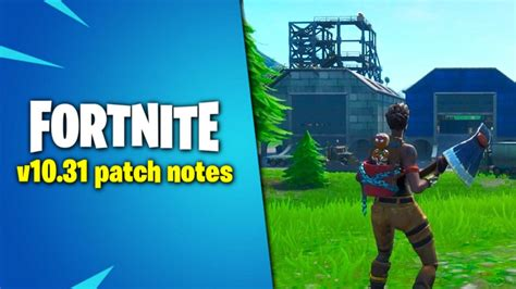 fortnite  update patch notes party hub map